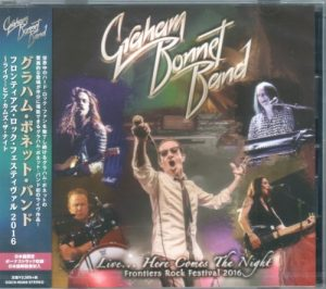 Graham Bonnet Band - Live Here Comes the Night: Frontiers Rock Festival 2016 (2017) [Japanese Edition]